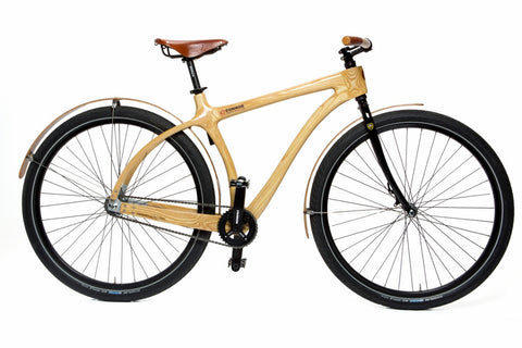 Connor Wood Bicycles - Wood Fender Cruiser