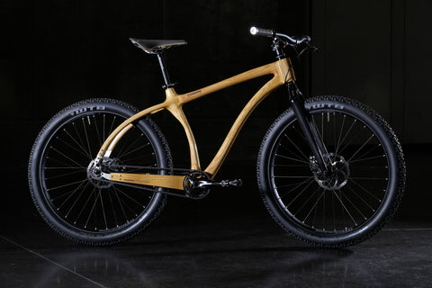 Connor Wood Bicycles - Wood Mountain Cruiser Bike