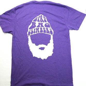 PURPLE BEARD LOGO SHIRT