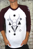 Gazelle and Moons Raglan