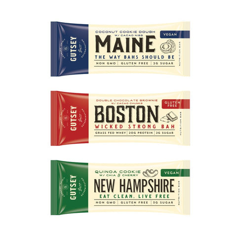 GUTSEY: Sampler Pack - All 3 Bars