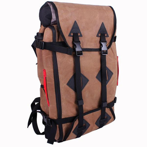 Stand-By Travel System Backpack in Wax Canvas