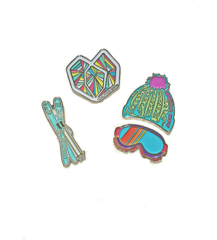#SisterhoodOfShred Pin Collection