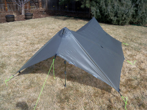 Canopy 1 Tent Fly with Clipped in Front Vestibule