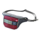 Fanny Pack Charcoal with Woven Panel