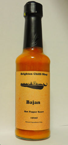 Brighton Chilli Shop's Bajan sauce 150ml