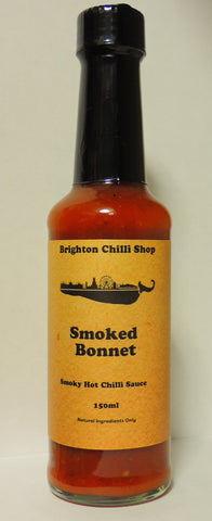 Brighton Chilli Shop's Smoked Bonnet sauce 150ml