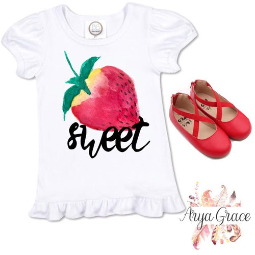 Sweet {Strawberry} Graphic Tee