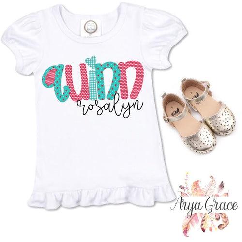 Strawberry Doodle Font Name Graphic Tee