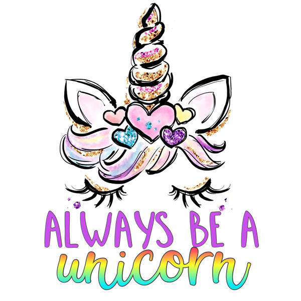 Always be a Unicorn Graphic Tee