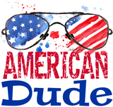 American Dude Graphic Tee