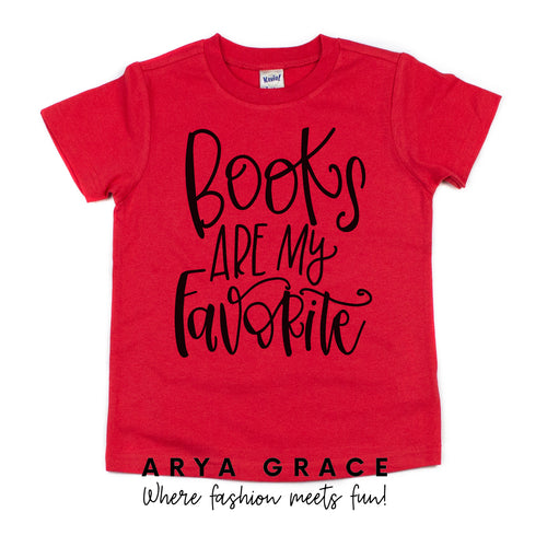 Books are My Favorite Graphic Tee {Toddler/Youth}