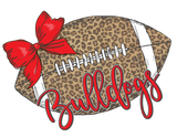 Cheetah Football Bulldogs Graphic Tee