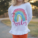 Easter Rainbow Graphic Tee