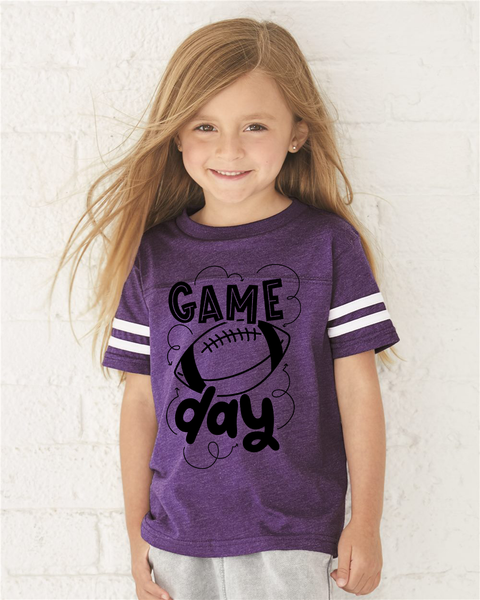 Game Day Graphic Tee {Football Jersey Infant/Toddler/Youth Sizing}
