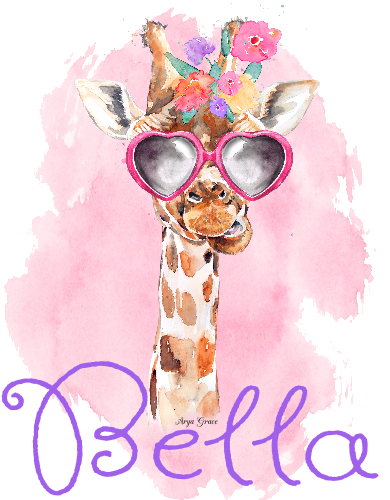 Giraffe Graphic Tee (Girl)