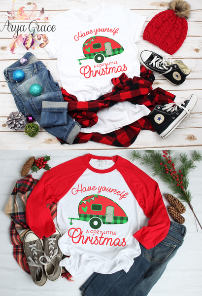 Have Yourself a Cozy Little Christmas Graphic Tee