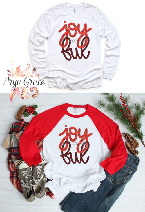 Joyful Graphic Tee