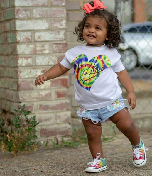 Love Revolution Graphic Tee {Toddler/Youth Sizing}