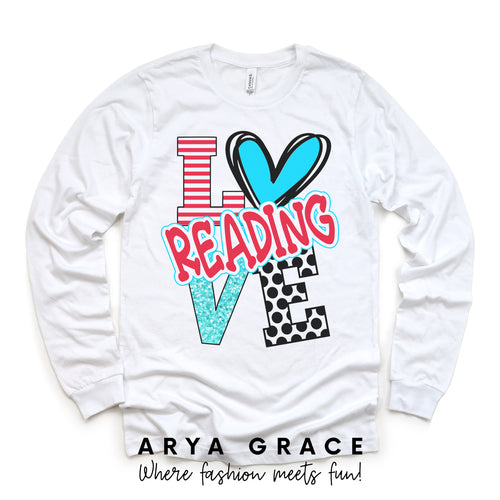 Love Reading Graphic Tee {Toddler/Youth}