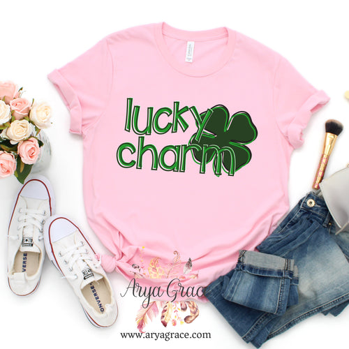 Lucky Charm Graphic Tee {Adult Unisex Sizing}