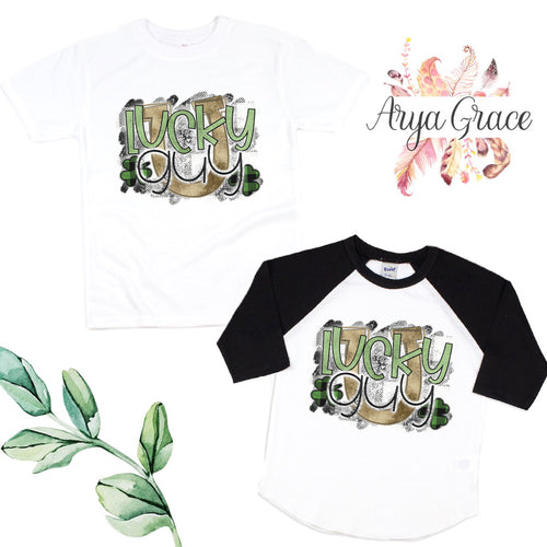 Lucky Guy Graphic Tee {Infant/Toddler Youth}