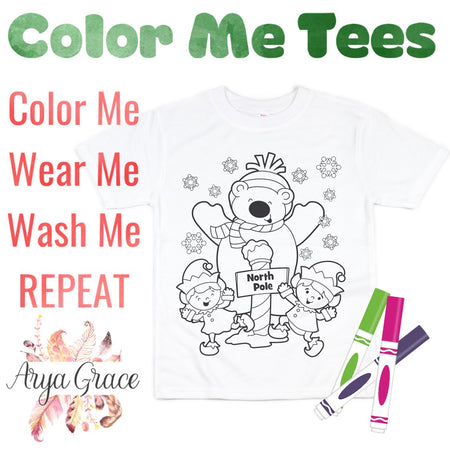 Rabbit Color Me💙Graphic Tee {Toddler/Youth Sizing}