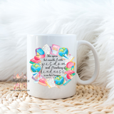 Proverbs 31:26 Teacher Watercolor Wreath Coffee Mug
