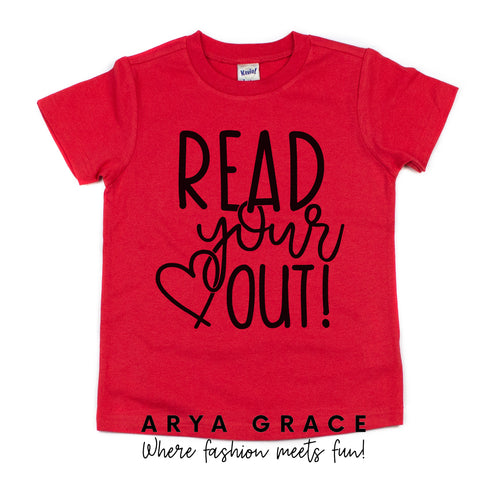 Read Your Heart Out Graphic Tee {Toddler/Youth}