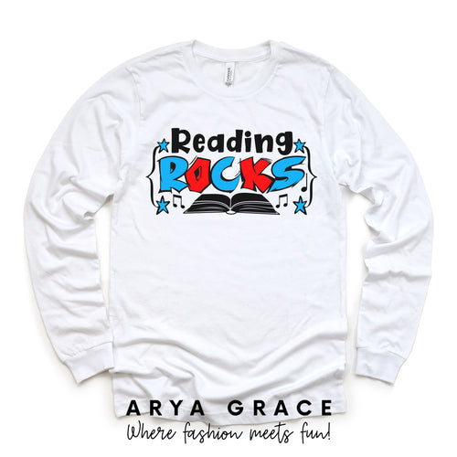 Reading Rocks Graphic Tee {Toddler/Youth}