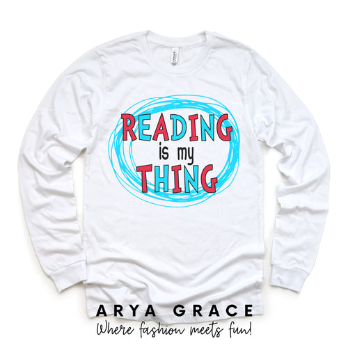 Reading is my Thing Graphic Tee {Toddler/Youth}
