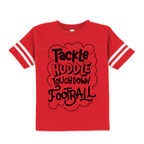 Tackle Huddle Touchdown Football Graphic Tee {Football Jersey Infant/Toddler/Youth Sizing}