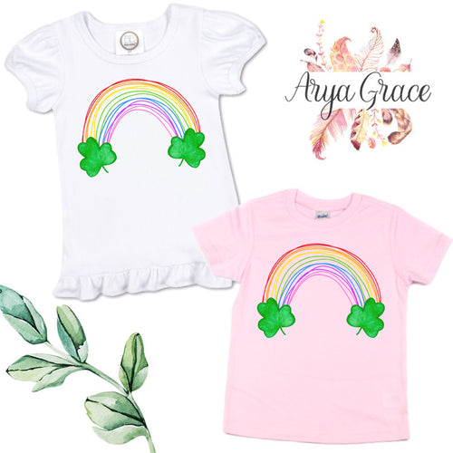Scribble Rainbow Graphic Tee {Infant/Toddler Youth}