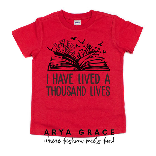 I Have Lived a Thousand Lives Graphic Tee {Toddler/Youth}