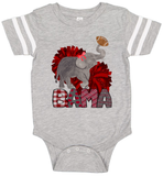 Elephant BAMA Football Style Graphic Tee {Infant/Toddler/Youth}