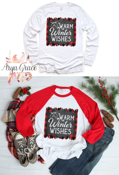 Warm Winter Wishes Graphic Tee