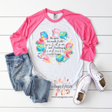 Proverbs 31:26 Teacher Watercolor Wreath Graphic Tee {Unisex Adult Sizing}