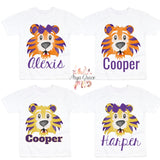Tiger Face Graphic Tee {Infant/Toddler/Youth}