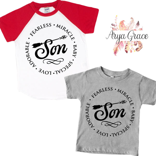 Son Graphic Tee (Infant, Toddler & Youth)