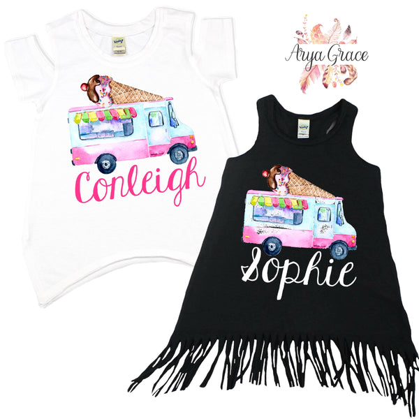 Ice Cream Truck Graphic Tee {Infant/Toddler/Youth}