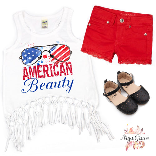 American Beauty Graphic Tee {Infant/Toddler/Youth}