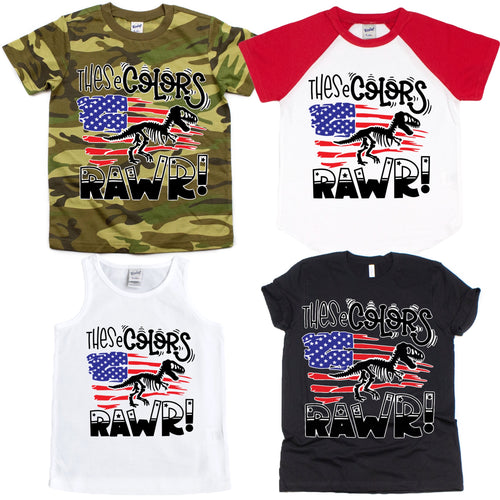 These Colors RAWR Graphic Tee {Infant/Toddler/Youth}