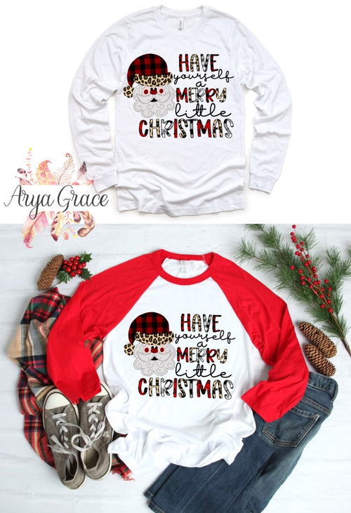 Have Yourself a Merry Little Christmas Graphic Tee