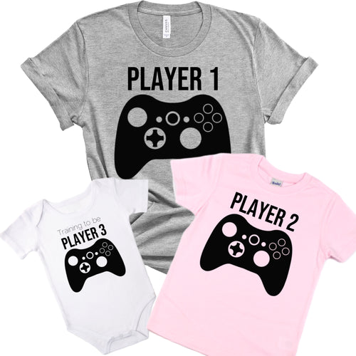 Player 1 Graphic Tee {Adult}