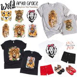 Wild (Choose Your Design) Graphic Tee {Adult Sizing}