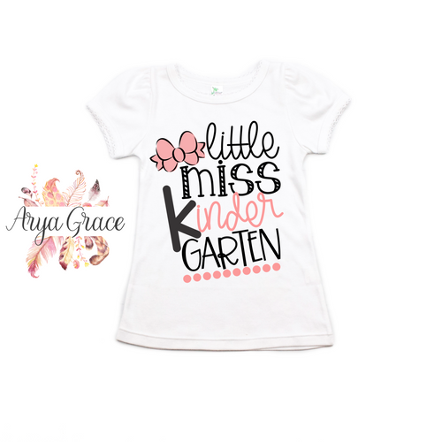 Little Miss {Choose Your Grade} Graphic Tee