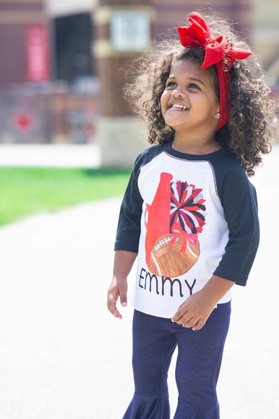 Team Spirit {Choose Your Team Colors} Graphic Tee {Infant/Toddler/Youth} Kayla's T-Shirt Party