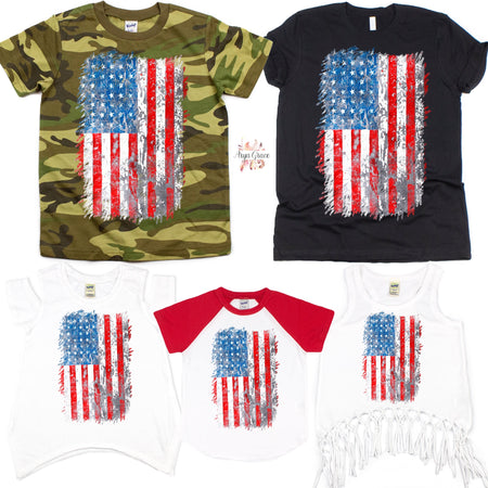 American Dude Graphic Tee {Infant/Toddler/Youth}