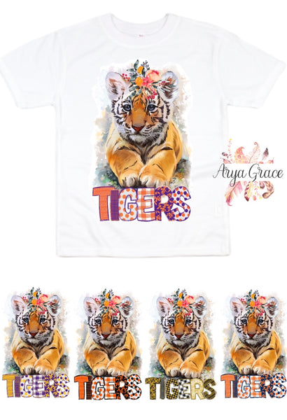 Tigers Graphic Tee {Infant/Toddler/Youth} Kayla's T-Shirt Party