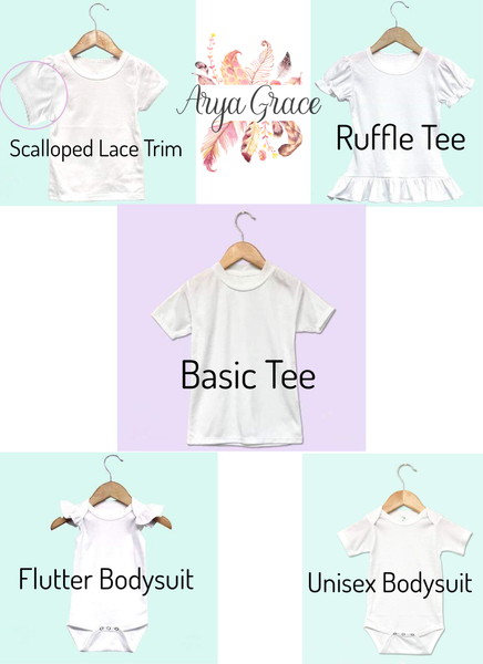 Dresses Bows & Painted Toes Graphic Tee